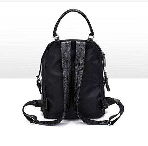 Damenmode Wilden Rucksack Wasserdicht Reisetasche black