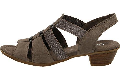 Gabor Donna Sandali grigio, (MINERAL) 62.472.78 schlamm braun