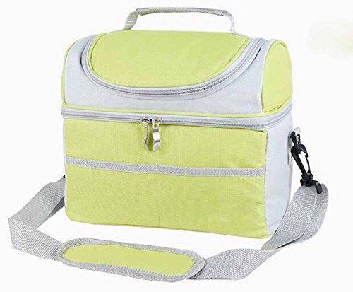 Outdoor-Picknick-Kühltasche Kühltasche Brust Frischen Beutel Mittagessen Tasche Tragbaren Handtasche,C