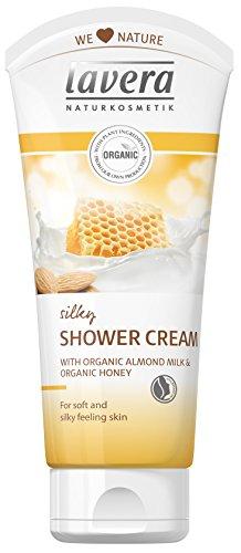 Lavera Organic Almond Milk & Honey Silky Shower Cream - Normal to Dry Skin 200ml -