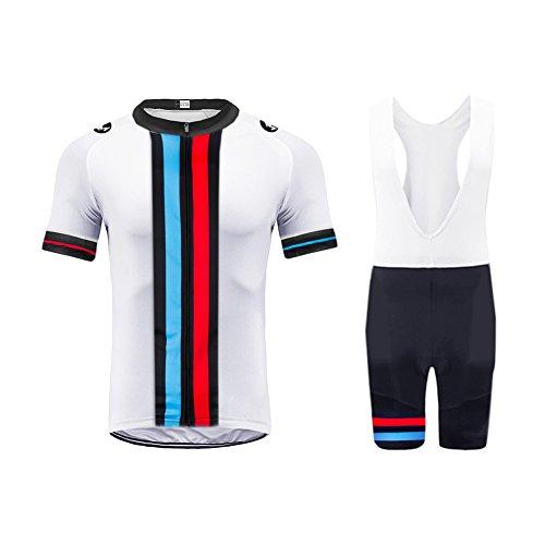 Uglyfrog 2019 Herren Pro Rennen Team MTB Radbekleidung Radtrikot Kurzarm und Radhosen Anzug Cycling Jersey Shorts Suit -