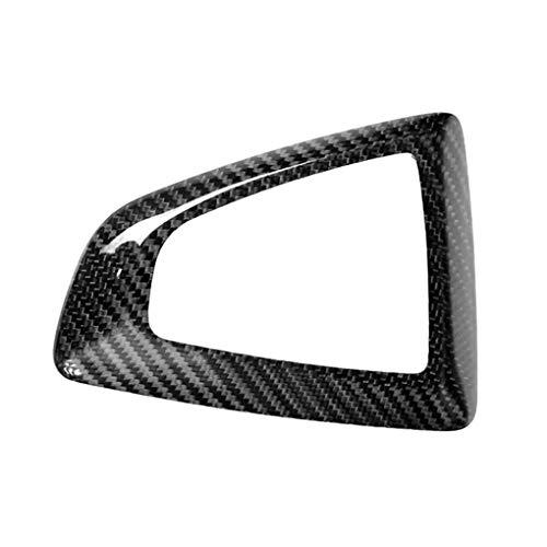 Lorsoul Vitesse de Voiture Maj Panneau de Commande en Fibre de Carbone Couverture Autocollant pour Replacemnt BMW Série 1/2/3/4