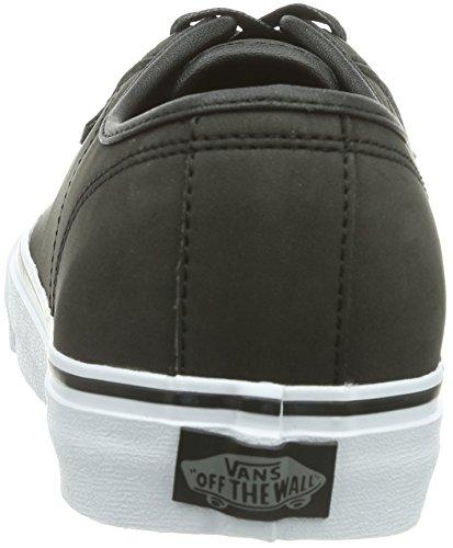 Vans M Ferris, Baskets mode homme Noir (Leather Buck Black)