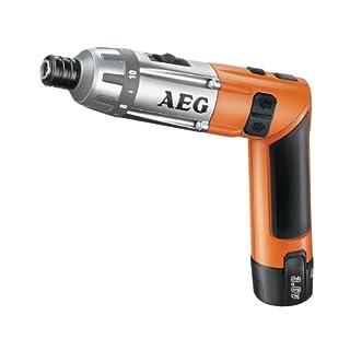 AEG 4935413165 SE 3.6 Akku-Kompaktschrauber, 200 W, 3.6 V, Schwarz, Orange