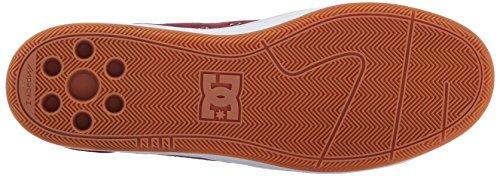 DC Mens Astor Skateboarding Shoe Oxblood/Oyster