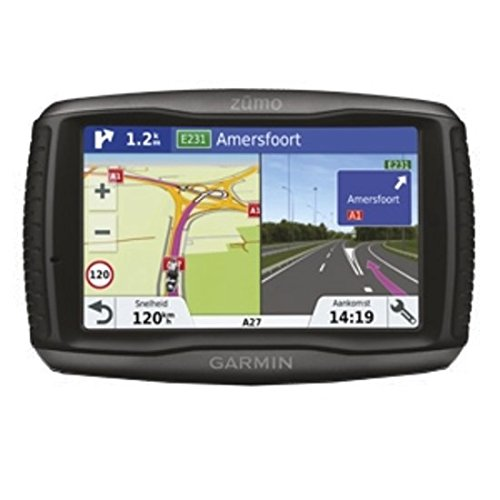 \'GARMIN zūmo 595lm Travel starr 5 LCD Touchscreen 374.5 G schwarz - Browser (SSD, Akku/Batterie,-Ionen (LiIon), starr, USB, LCD)