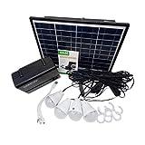 12V 4A Generador de energía, Panel Solar Generador de Almacenamiento de...