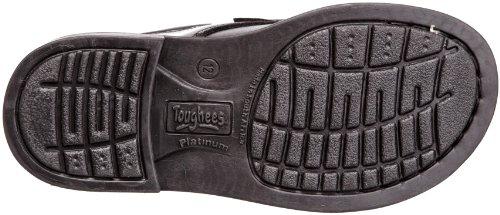 Toughees Class Velcro, Chaussures D'école et Uniforme Garçon Noir