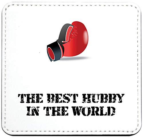 Co17 Untersetzer mit Boxhandschuhen, The Best Hubby in the World