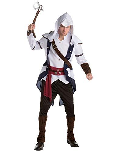 Creed Assassin's Connor Kostüm - Generique - Connor Assassins Creed Kostüm für Erwachsene Einheitsgröße