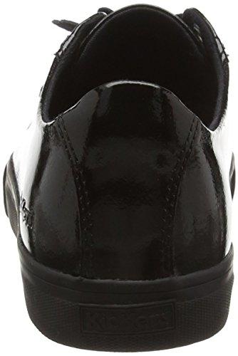 Kickers Tovni Lacer, Baskets Basses Femme Noir