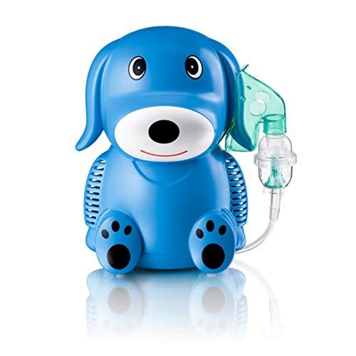 Only For Baby Blue Puppy Inhaliergerät Kinder Inhalator Aerosol Therapie Vernebler Inhalation Kompressor Aerosolvernebler Inhalationsgerät