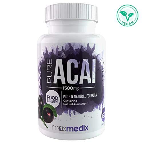 ¿ QUÉ ES PURE ACAI? Pure Acai es un suplemento a base de extracto de Acai natural que ha sido diseñado específicamente para ayudar a restaurar el bienestar del organismo, aportando una gran cantidad de vitaminas y nutrientes propios de este fruto. G...