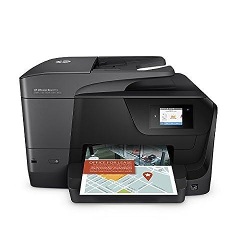 HP OfficeJet Pro 8715 Imprimante Multifonction Jet d'Encre (22 ppm,