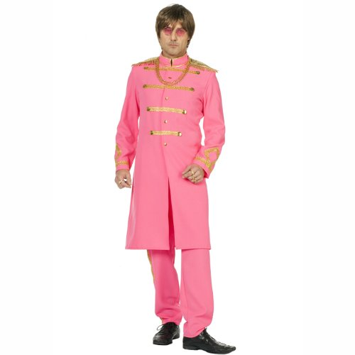 PARTY DISCOUNT NEU Herren-Kostüm SGT. Pepper, rosa Gr. 54-56