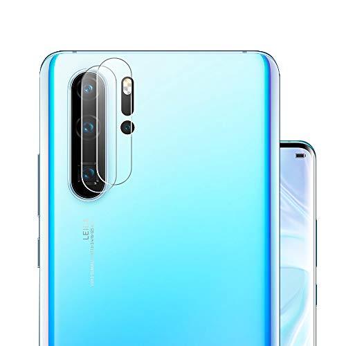 G-Color Protector Cámara/Cámara Trasera Lente Huawei P30 Pro, [2 Unidades], [Alta definición] [2.5D 0.2mm] [9H de Dureza] Cristal Vidrio Templado para Huawei P30 Pro