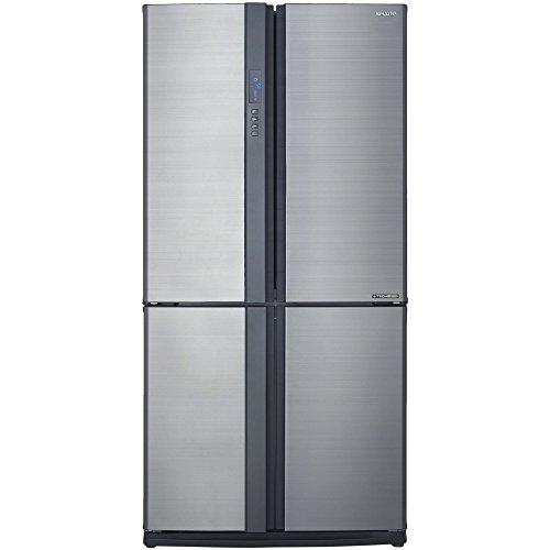 Sharp SJEX770FSL Réfrigérateur Américain 556 liters Classe: A++ Argent Froid ventilé No Frost