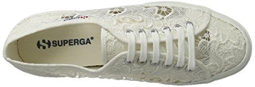 Superga 2750-Macramew, Scarpe da Ginnastica Donna Bianco (White)