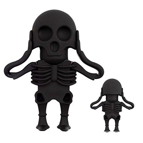 nes schwarzen Skeletts mit 16 GB Speicher USB 2.0 Technologie für schnellen Datentransfer mit Versand vom deutschen Händler ()
