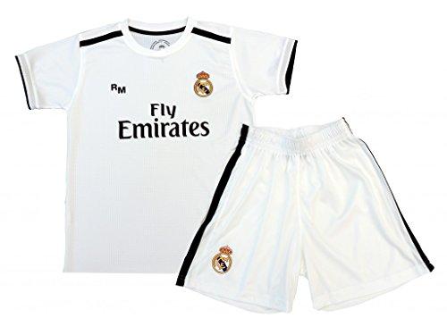 1dea640d71 Box 1º Equipo Sergio Ramos Real Madrid JR 2018-2019 Conjunto Niño (T/ ...