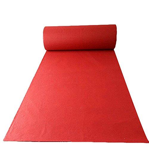 One-Time Foot Pad Dicker Hochzeit Zeremonie Decke Ausstellung Eröffnet Feier Großen Roten Teppich Ganze Volume (größe : 2m x 20m) ()