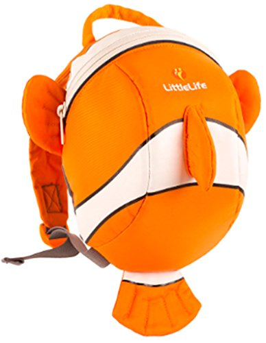 Littlelife Kinder Tagesrucksack  Toddler Animal Clownfish, mehrfarbig, 2 liters, L10810