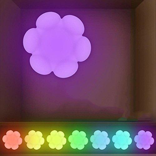 PLYY Nette Kreative Pat Lichter der Karikatur Sukkulenten Bunt Silikon Licht Kreativ Schlafzimmer Lager Bett Nachtlicht (Bett-lichtschalter)