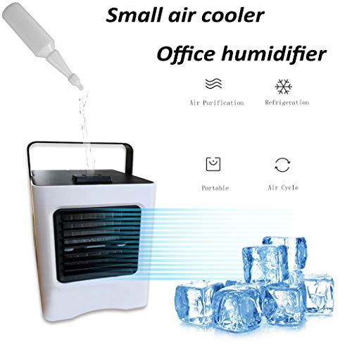 Tensay USB-Lade tragbare Multifunktions-Klimaanlage Fan Home Kühlschrank Kühler, kleiner Schlafsaal Office Schlafzimmer Schreibtisch Outdoor Travel Sport Fan, Sommer beste Geschenk für Kinder Familien - Sport-kühlschrank