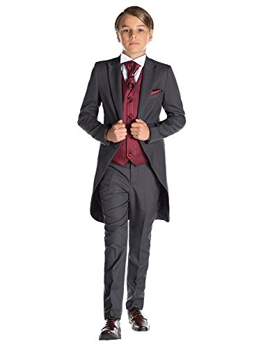 Paisley of London Jungen Grau Kostüm zu Schwanz, -