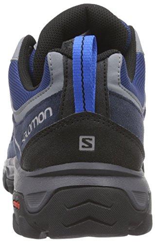 Salomon  Evasion Aero, Chaussures de trekking et randonnée homme Bleu - Blau (Deep Blue/Gentiane/Union Blue)