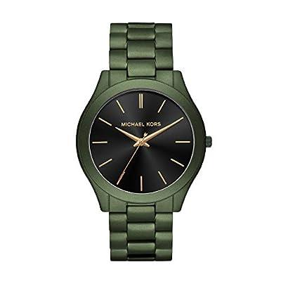 Michael Kors Reloj Analógico para Hombre de Cuarzo con Correa en Acero Inoxidable MK8715