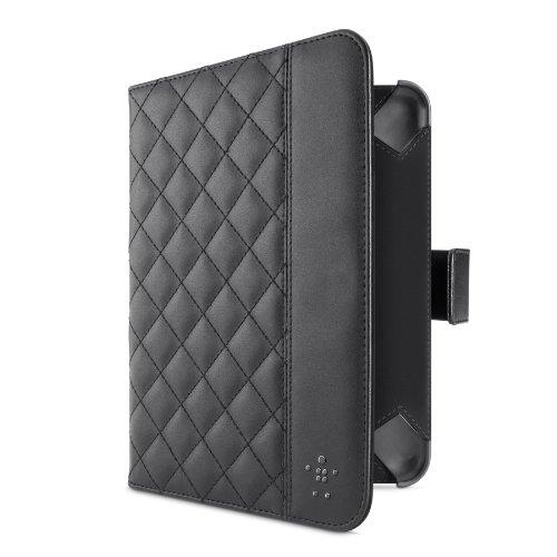 Belkin Gesteppte Schutzhülle mit Ständer für Kindle Fire/ Kindle Fire HD schwarz
