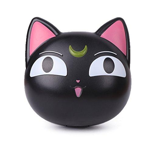 rawuin 1Objektiv Box Cartoon Cat Portable Kontakt Aufbewahrung Fall Spiegel Container Halter (# 011) (Kontakt Objektiv Fällen)