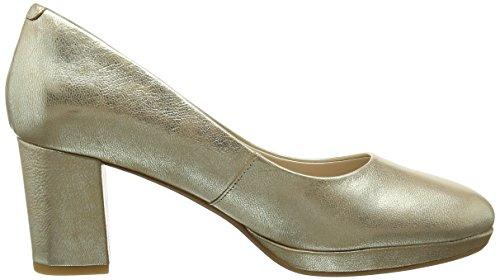 Clarks Kelda Hope, Escarpins Femme Multicolore (Gold Metallic)