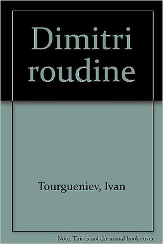Dimitri Roudine epub, pdf