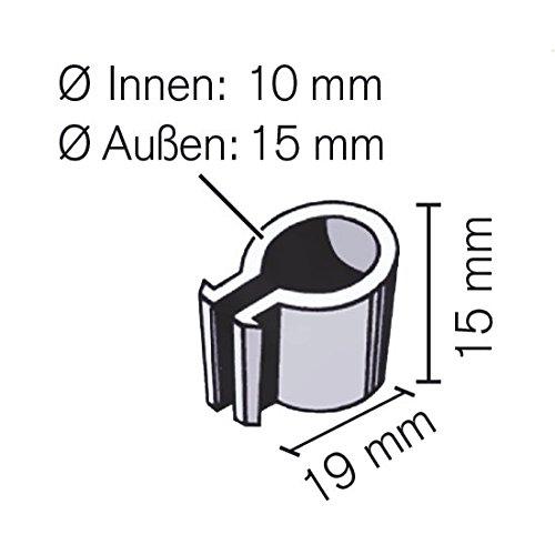 MacGreen® Gewächshaus-Clips zur Innenbefestigung (50 Stück ...