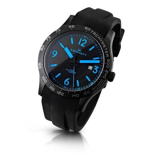 Kennett Men's Watch 1001.3401 Altitude Black And Blue