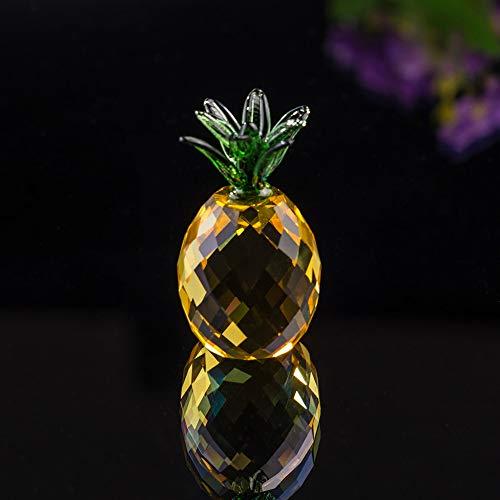 8b3641bf167c LtrottedJ - Figura de piña de Cristal Decorativa de Feng Shui (tamaño A)