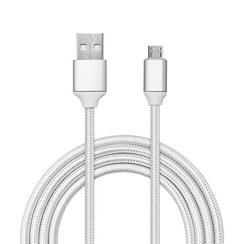 Superior Micro USB Kabel, ZRL® 0.25m-3m High Speed Geflecht USB 2.0 Micro USB Fast Cable Data Sync Cord für Android, Samsung Galaxy, Kindle, HTC, Nexus, LG, Sony, Nokia, Motorola, Huawei und mehr