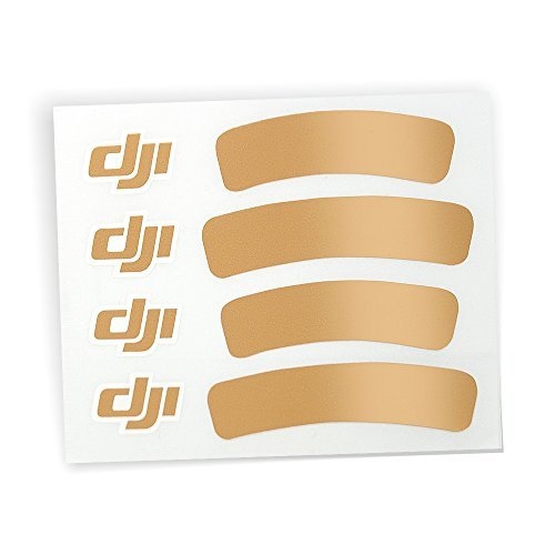 Preisvergleich Produktbild DJI Sticker Aufkleber Gold für DJI Phantom 3 III Quadrocopter Standard Advanced und Professinal