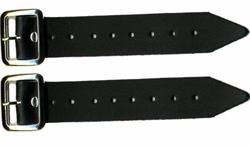 Kilt-Riemen und Schnalle 12.70 cm Verlängerung 3.17 cm breit, 2 Stück (1 Paar) -