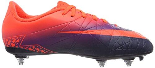 Nike Hypervenom Phelon Ii S G, Scarpe da Calcio Unisex – Bambini Multicolore (Total Crimson/obsidian-vivid Purple)
