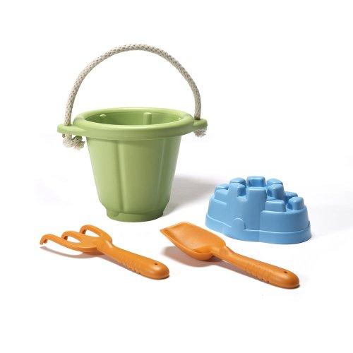 Green Toys - 66013 - Jeu De Sable - Vert