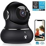 Überwachungskamera, Littlelf WLAN IP Kamera 1080P HD WiFi Kamera mit 360°Schwenkbare Baby Monitor,...