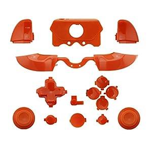 WPS Ersatzknöpfe Matt (Oberfläche in Richtungstasten Triggers Full Button Set Mod Kits für Neuestes Xbox One Controller (3,5mm Port) mit Schraubendreher (Torx T6T8) Set