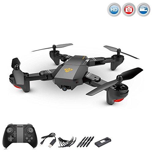 4.5 Kanal RC ferngesteuerter Quadcopter mit HD-Kamera, Drohne, Hubschrauber, Auto Abheben/Landen, Rückholmodus, Headless und viele weitere Funktionen, Crash-Kit, Neu OVP (Drohne Auto)