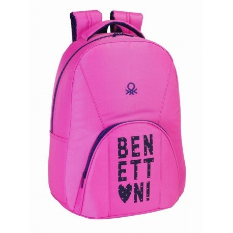Mochila Benetton Heart, Adaptable a Carro