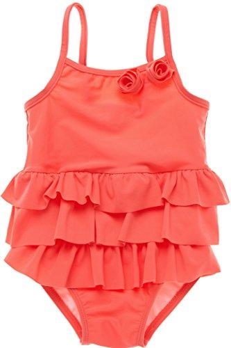 alove-baby-madchen-einteiler-badeanzug-saugling-bademode-rosen-motiv-mit-ruschen-orange-0-3-monate