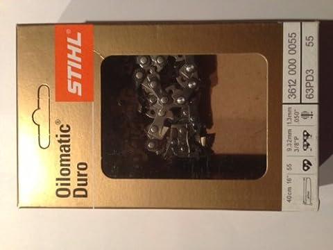 Stihl Sägekette Picco Duro 3 PD3 3/8 1,3 mm 55 Glieder Hartmetallkette
