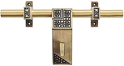 A & Y Traders Glorious Brass Main Door Aldrop 10 inches (Dot)